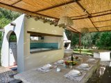 Zelt Lodge Villa Orri, 30 m vom Strand Barbecue